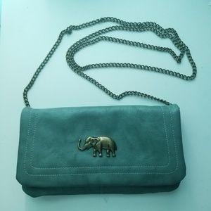 Francesca's Elephant Wallet Crossbody